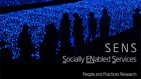 Future Lab: SENS &#8211; Socially Enabled Services for Mobile Devices