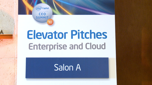Intel Capital CEO Summit 2010: Elevator Pitches