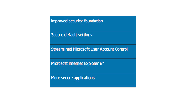 Enterprise IT Security Benefits of Microsoft Windows 7